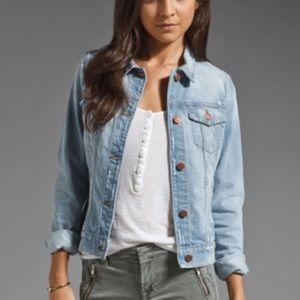 J brand Blue Haven Destructed Jean Jacket